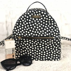 🌸OFFERS?🌸Kate Spade Leather Polka Dot Backpack🎒